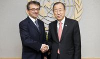 UN Secretary General Ban Ki-moon...